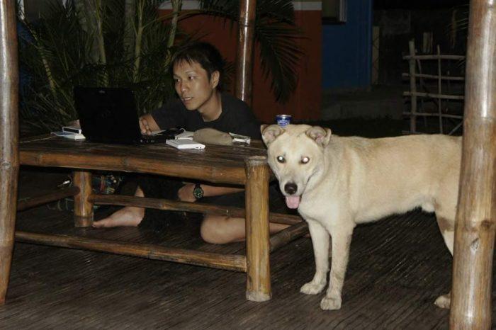 フィリピン留学 KUBOの中で勉強