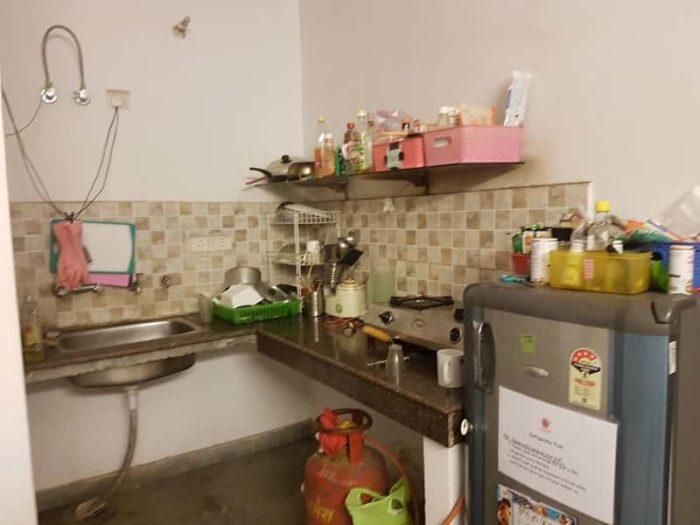 インドのIT留学中のキッチン