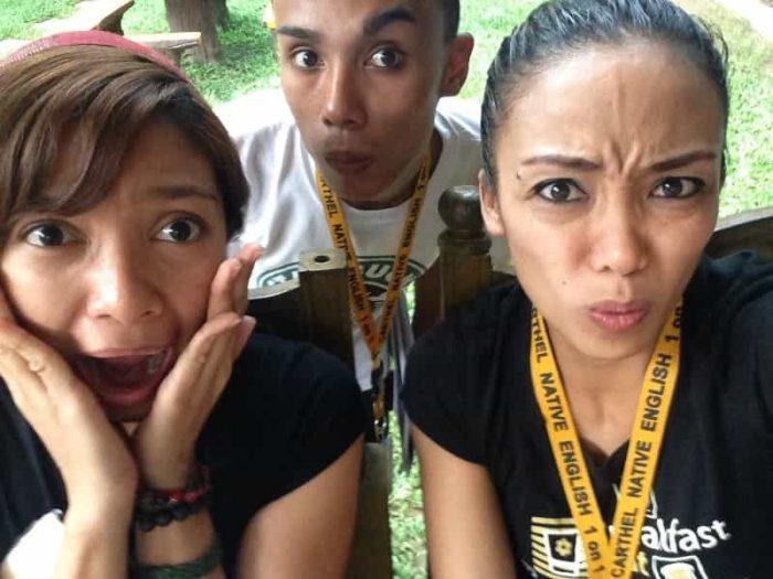 フィリピン留学のかわいい先生たち