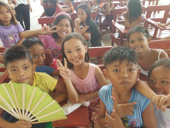フィリピンのかわいい子供達