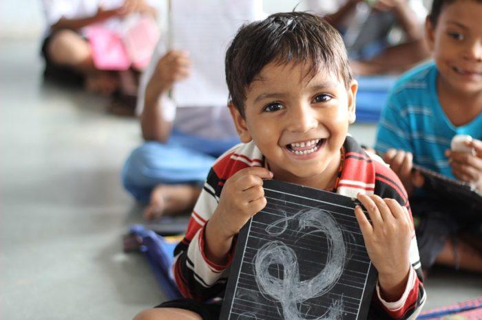 インドのかわいい子供