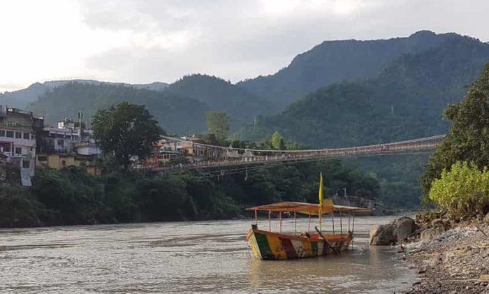 リシケシにはガンジス川がある
