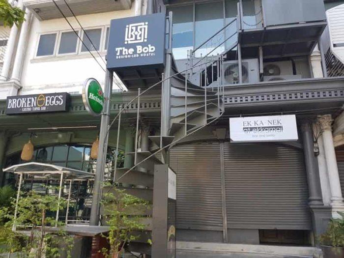 バンコクのおしゃれゲストハウス The BOB Hostel