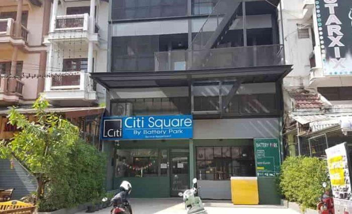 チェンマイおすすめできないゲストハウス Citi Square by Battery Park