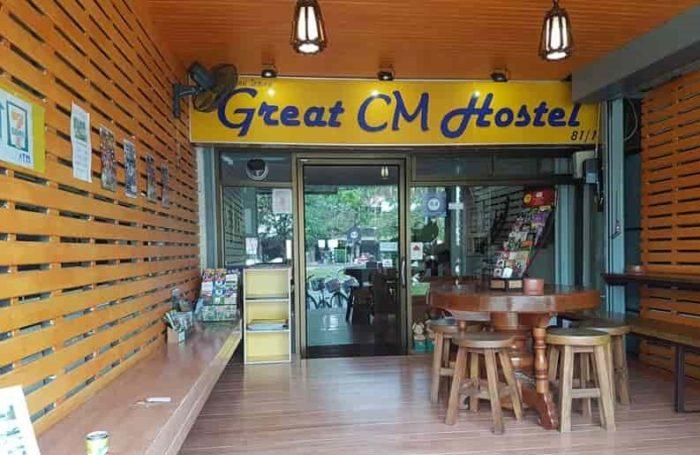 チェンマイおすすめゲストハウス Great Chiangmai Hostel