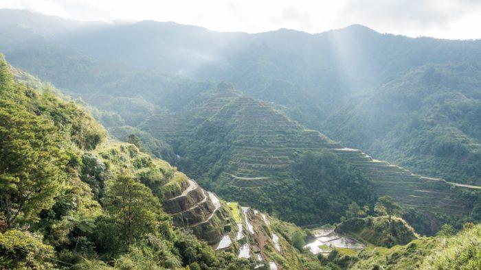 フィリピン バギオの山