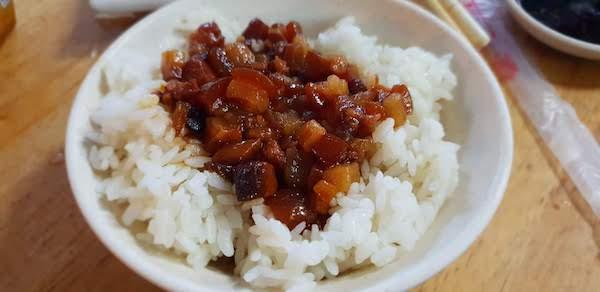 台湾の代表料理 肉燥飯は何て読む?