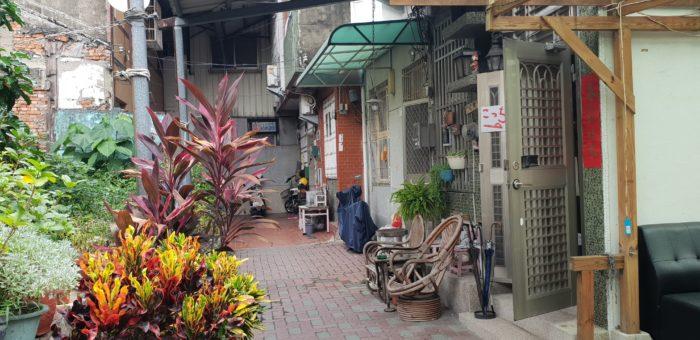 台南オススメの日本人宿 はむ家の入口