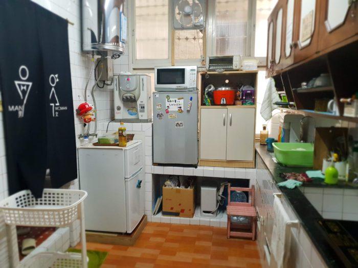 台南 はむ家 共用の台所