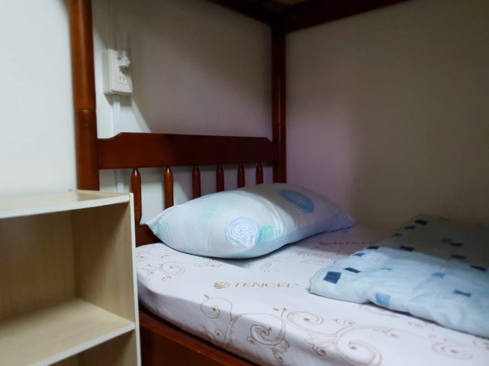 台南 はむ家 きれいなベッド