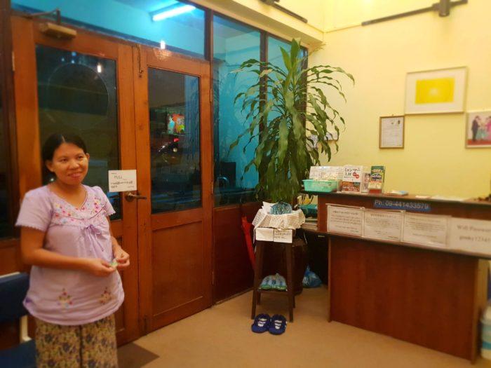 ヤンゴン Genky Japanese Therapy Clinicの店内