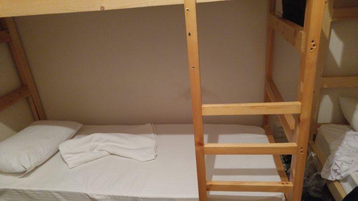 Bishkek Homestel のベッド