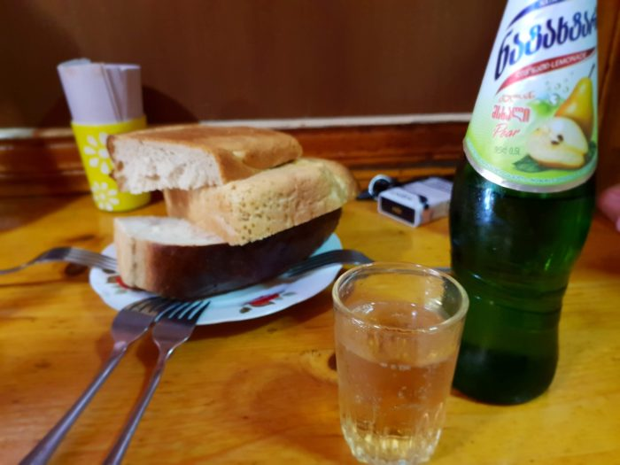 クタイシ Bikentia's Kebabery 美味しすぎるレモネード