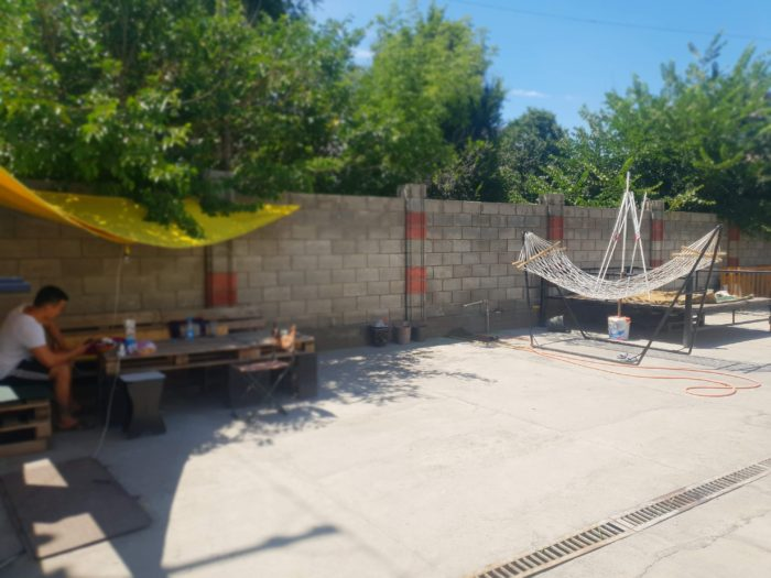 Bishkek Homestel 庭