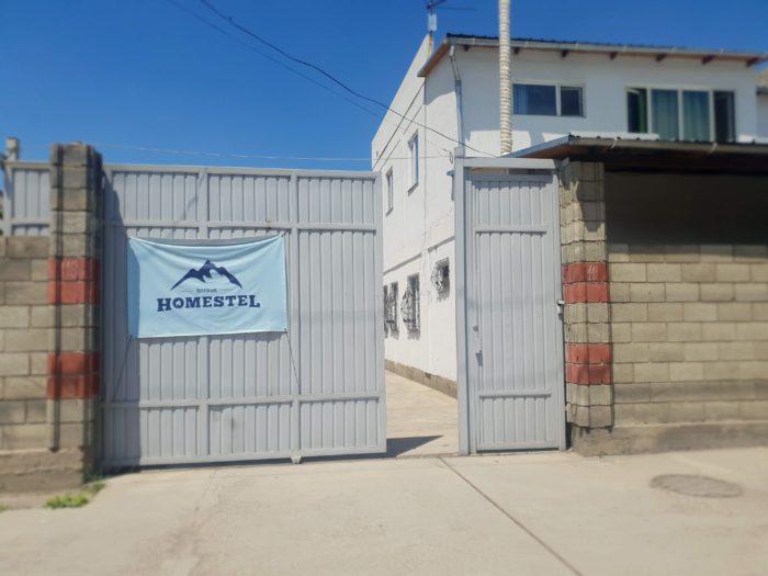 Bishkek Homestelの入口