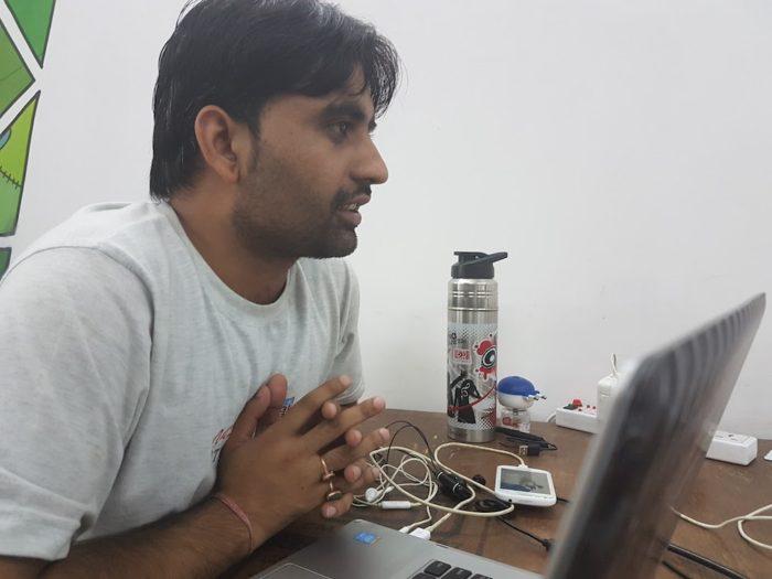 インド IT留学の先生