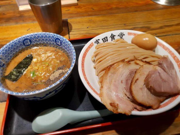 中華蕎麦 富田食堂 濃厚特製つけ麺