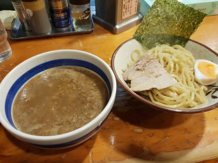山勝角ふじ 魚介濃厚つけ麺