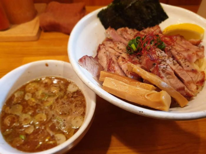 麺道 GENTEN グリルつけ麺