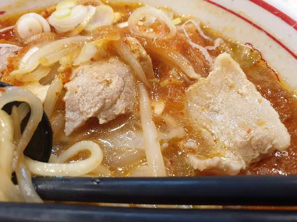 五目蒙古タンメンが美味しい!
