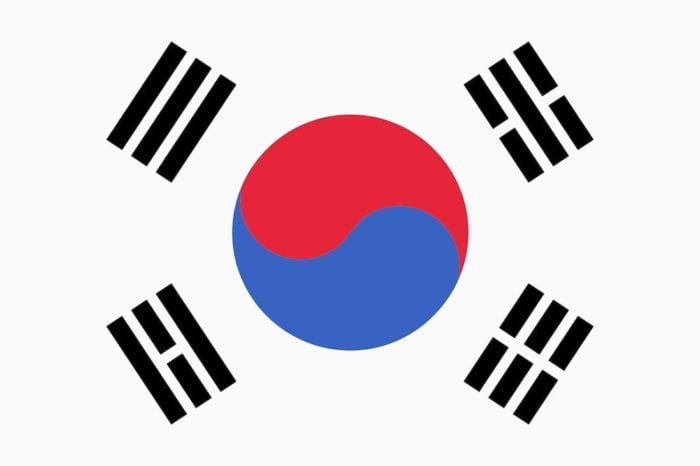 韓国国旗 旅行基本フレーズ