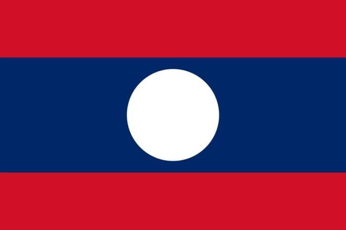 ラオス国旗 旅行基本フレーズ