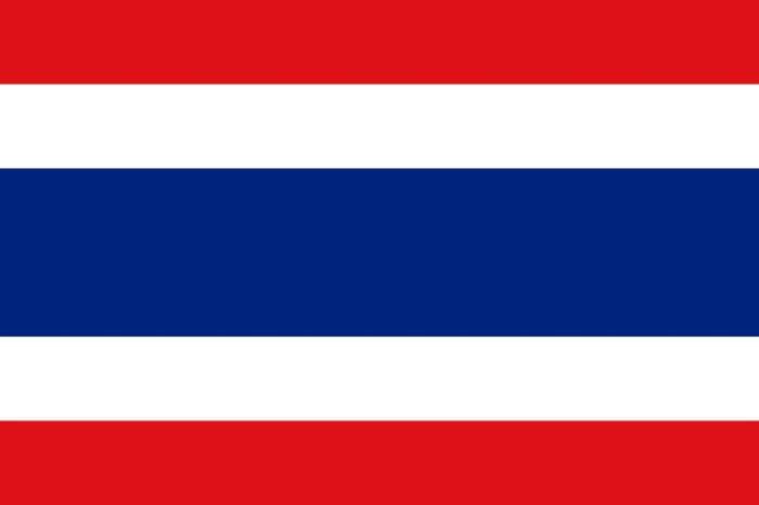 タイ国旗 旅行基本フレーズ