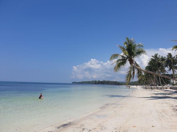 フィリピン ボラカイのビーチ