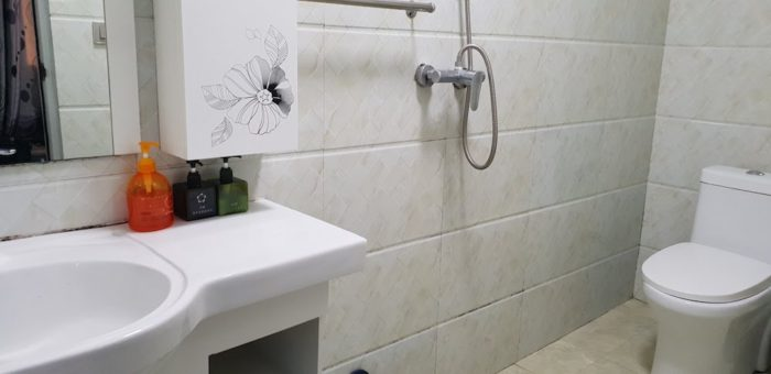大理五行客栈のシャワールーム