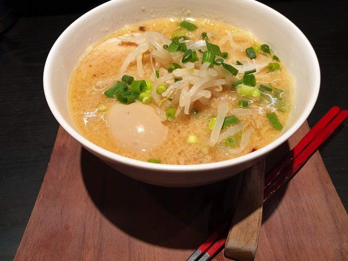 【亀有 麺 体制】味噌半熟玉子ラーメ