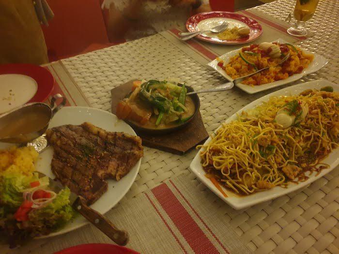 セブ TOP OF CEBU フィリピン料理