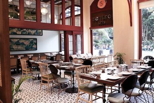 マカティ Sentro 1771 (フィリピン料理)店内