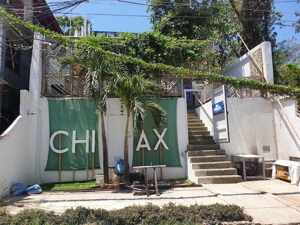 ボラカイ島おすすめドミトリー CHILLAX Flashpackers Boracay