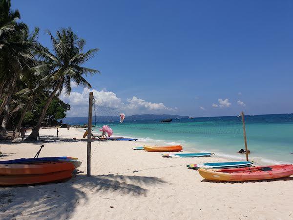 ボラカイで一番きれいなビーチ Pukaビーチ