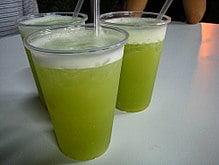 甘蔗汁 読み方(台湾 屋台)