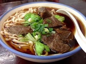 牛肉麺 読み方(台湾 屋台)