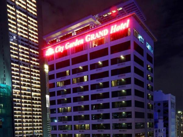 マニラ おすすめビジネスホテル City Garden Grand Hotel 外観