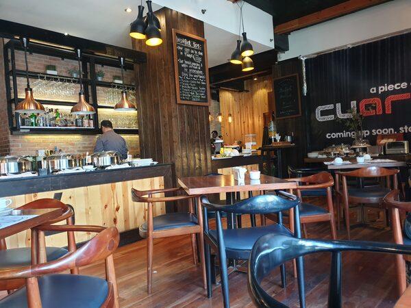 Cuarto Hotel(クアルト ホテル)カフェスペース