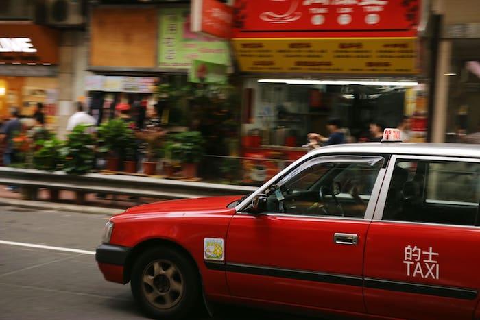 中国語  タクシーに乗る時のフレーズ
