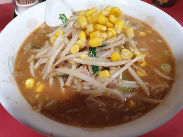 松戸市 天津(中華料理屋)味噌ラーメン