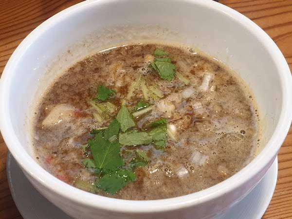 麺や月星のつけ麺