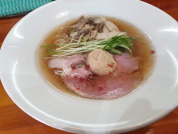 麺道 わがまんま(麺道我飯)のボルチーニ香るラーメン