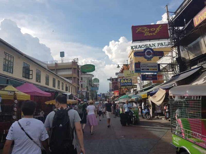 バンコクにある バックパッカーの聖地 カオサンロード